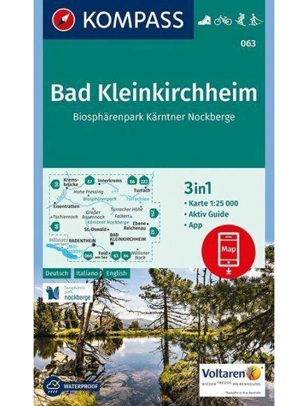 K 063 Bad Kleinkirchheim turistatérkép