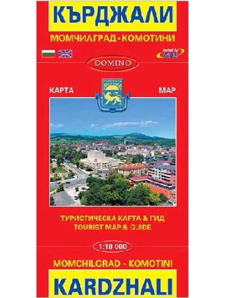 Cartographia  - Kardzhali, Momchilgrad, Komotini várostérkép