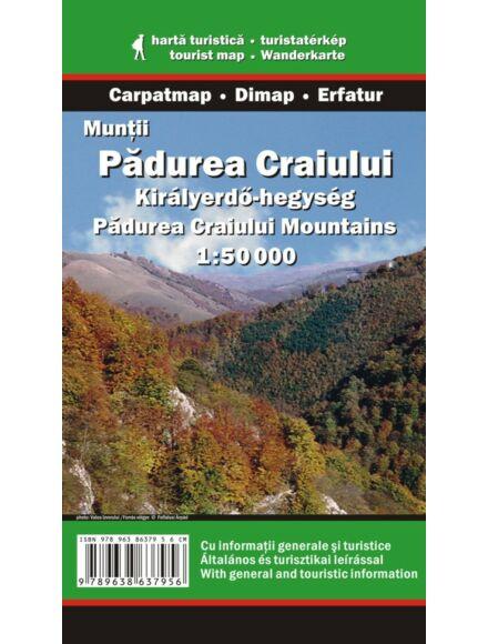 Királyerdő-hegység turistatérkép