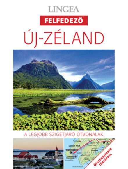 Új-Zéland felfedező útikönyv térképpel