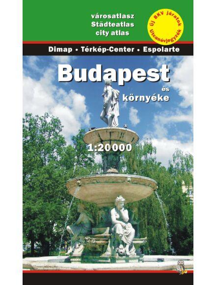 Cartographia  - Budapest és környéke atlasz