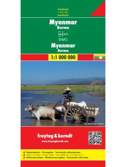 Cartographia  - Myanmar - Burma térkép