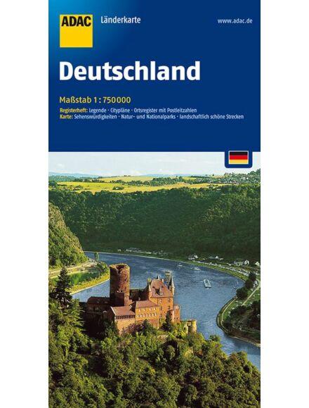 Németország térkép (ADAC)