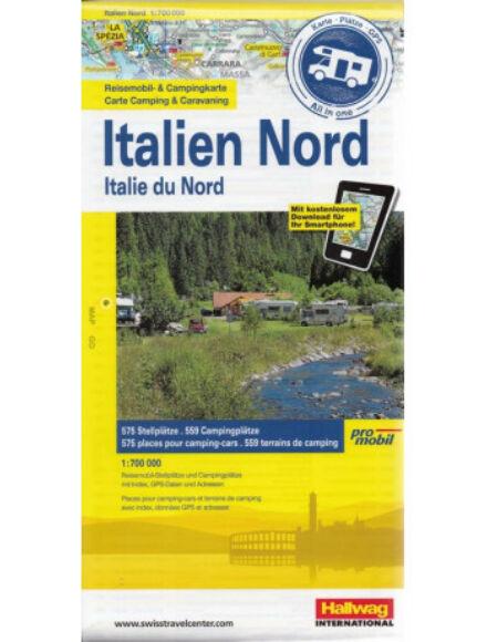 Cartographia  - Észak-Olaszország kemping térkép