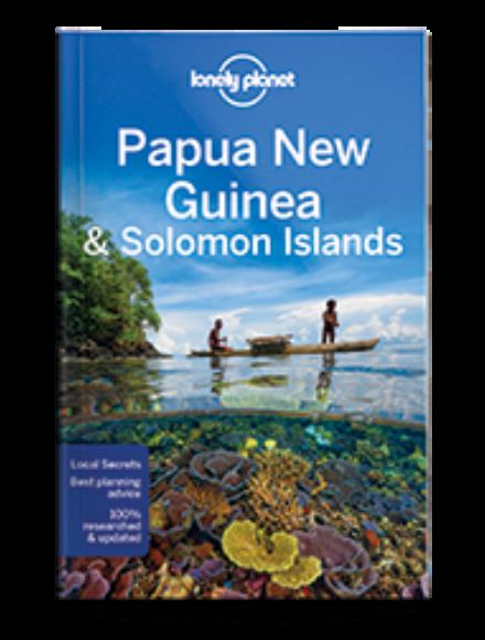 Pápua Új-Guinea és Salamon-szigetek útikönyv (angol)