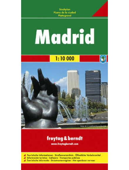 Cartographia  - Madrid várostérkép