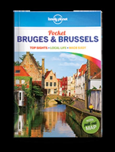 Bruges és Brüsszel Pocket útikönyv (angol)