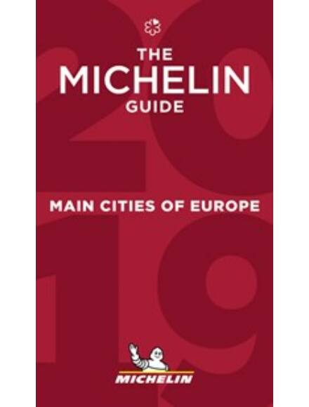 Cartographia  - The Michelin Guide - Main Cities of Europe 2019 (Red Guide)