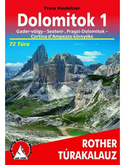 Cartographia  - Dolomitok 1. túrakalauz
