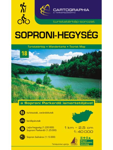 Cartographia  - Soproni-hegység turistatérkép [18]
