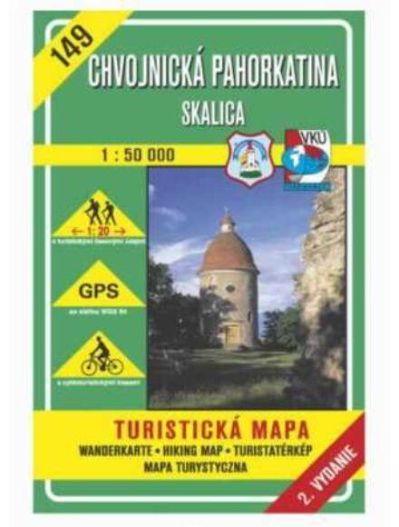 HM149 Chvojnicei-dombság, Szakolca turistatérkép