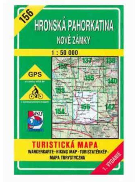 Cartographia  - HM156 Garam menti dombság, Érsekújvár