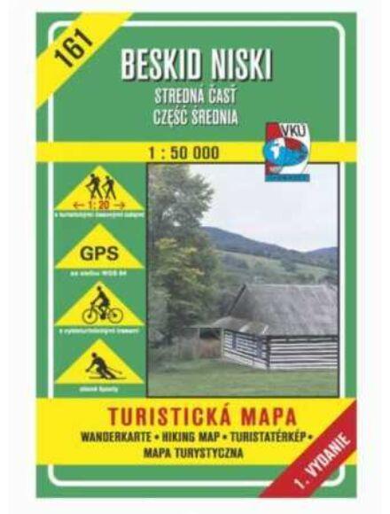 Cartographia  - HM161 Alacsony-Beszkidek (közép) turistatérkép