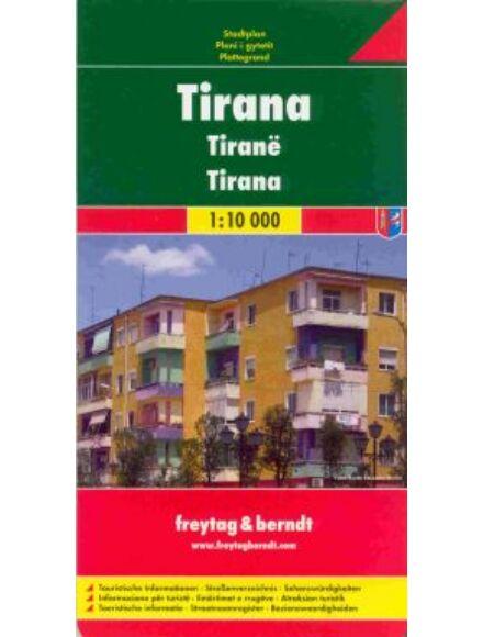 Cartographia  - Tirana várostérkép