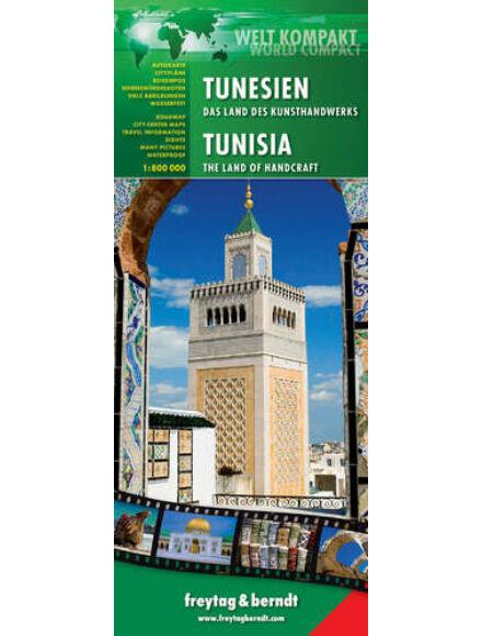 Cartographia  - Tunézia térkép world compact