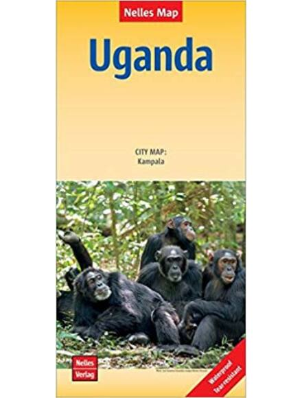 Cartographia  - Uganda térkép