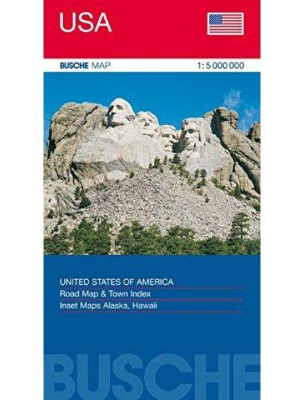 USA áttekintő térkép