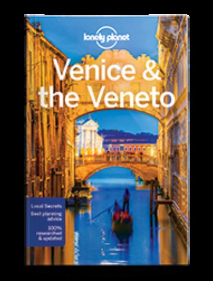 Velence és Veneto tartomány útikönyv (angol)