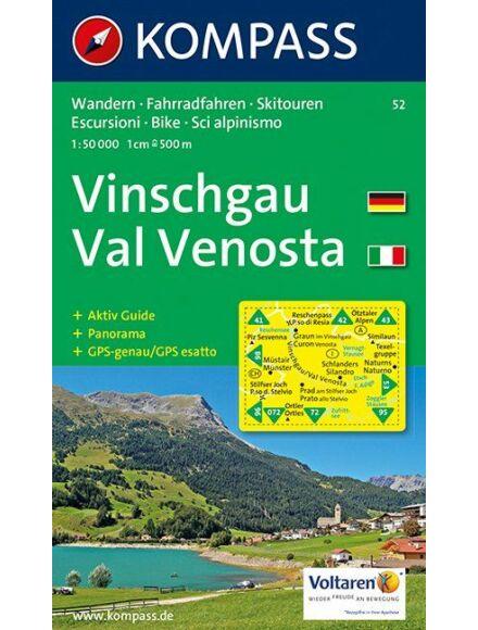 Cartographia  - KOMPASS Wanderkarten: Vinschgau /Val Venosta