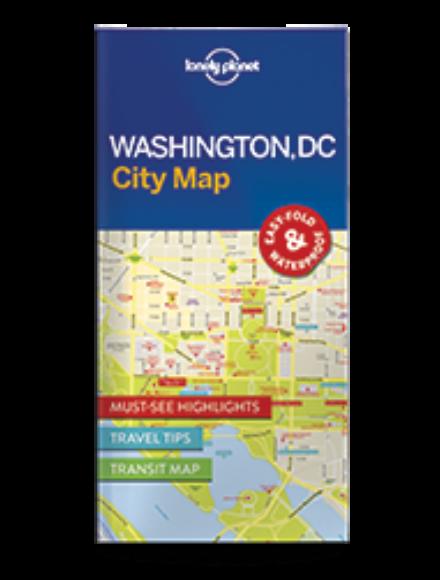 Cartographia  - Washington DC laminált térkép