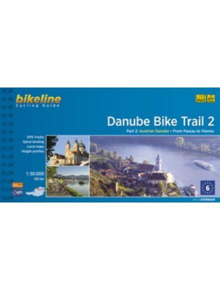 Duna kerékpáros kalauz 2. Passau - Bécs (angol)