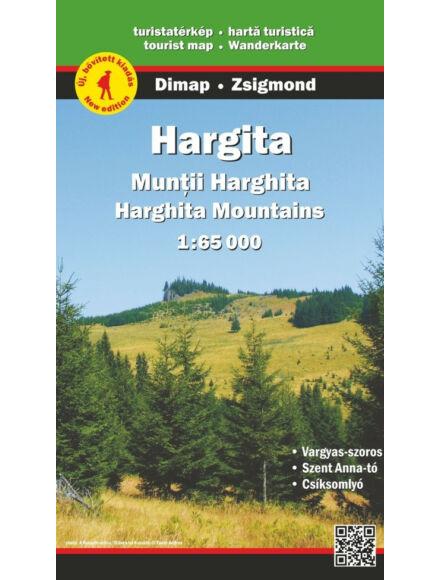 Hargita turistatérkép