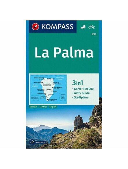 K 232 La Palma turistatérkép