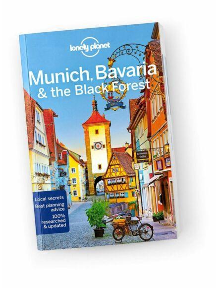 München, Bajorország (Bavaria), Fekete-erdő útikönyv (angol)