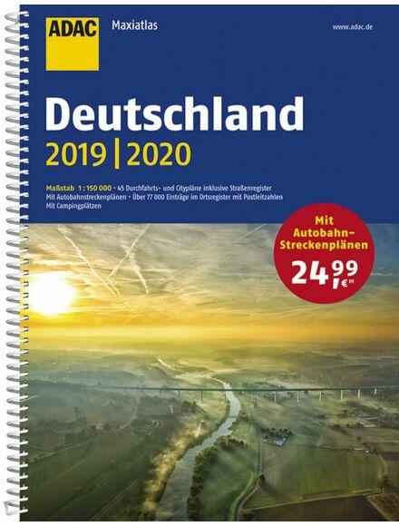 Németország Maxi atlasz 2016/17