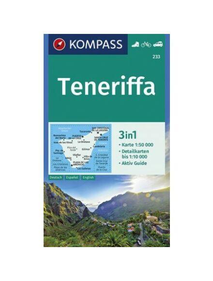 Cartographia  - K 233 Tenerife turistatérkép